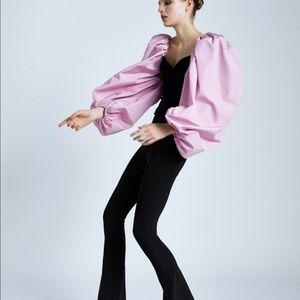 Zara Velvet Contrast Top
